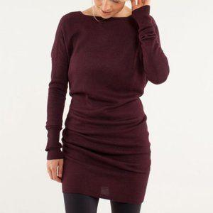 Lululemon Serenity Sweater Reversible Dress Size 6